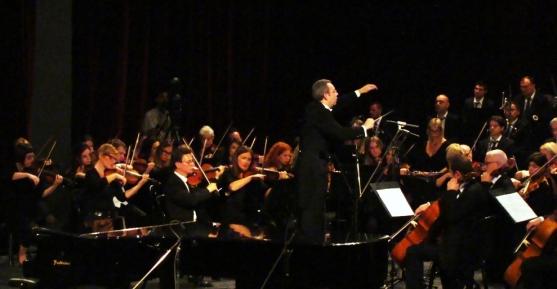 Saint Saens, Tole και Kydoniatis με τη Συμφωνική της Αλβανικής Ραδιοτηλεόρασης